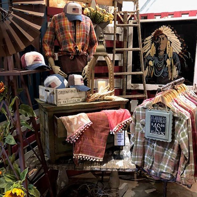 It's flannel season!  Check out our cozy and unique collection