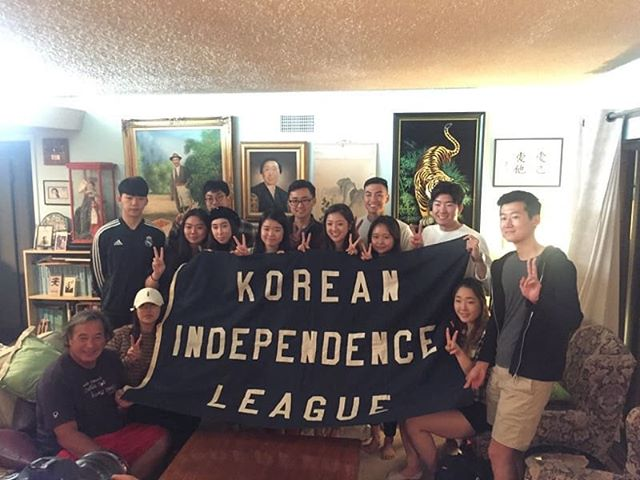 It was a fun Saturday with USC Korean Culture Night staff and other Korean history students!!! Flip has always encouraged students, and pretty much anyone who wants to learn, to visit his home and see all of the things his family has collected since Dosan immigrated to the US in 1902.  #koreanamericanheritagepodcast #koreanamerican #kahp #dosan #dosanahnchangho #korea #koreanflag #koreanindependence #도산 #도산안 #도산안창호 #