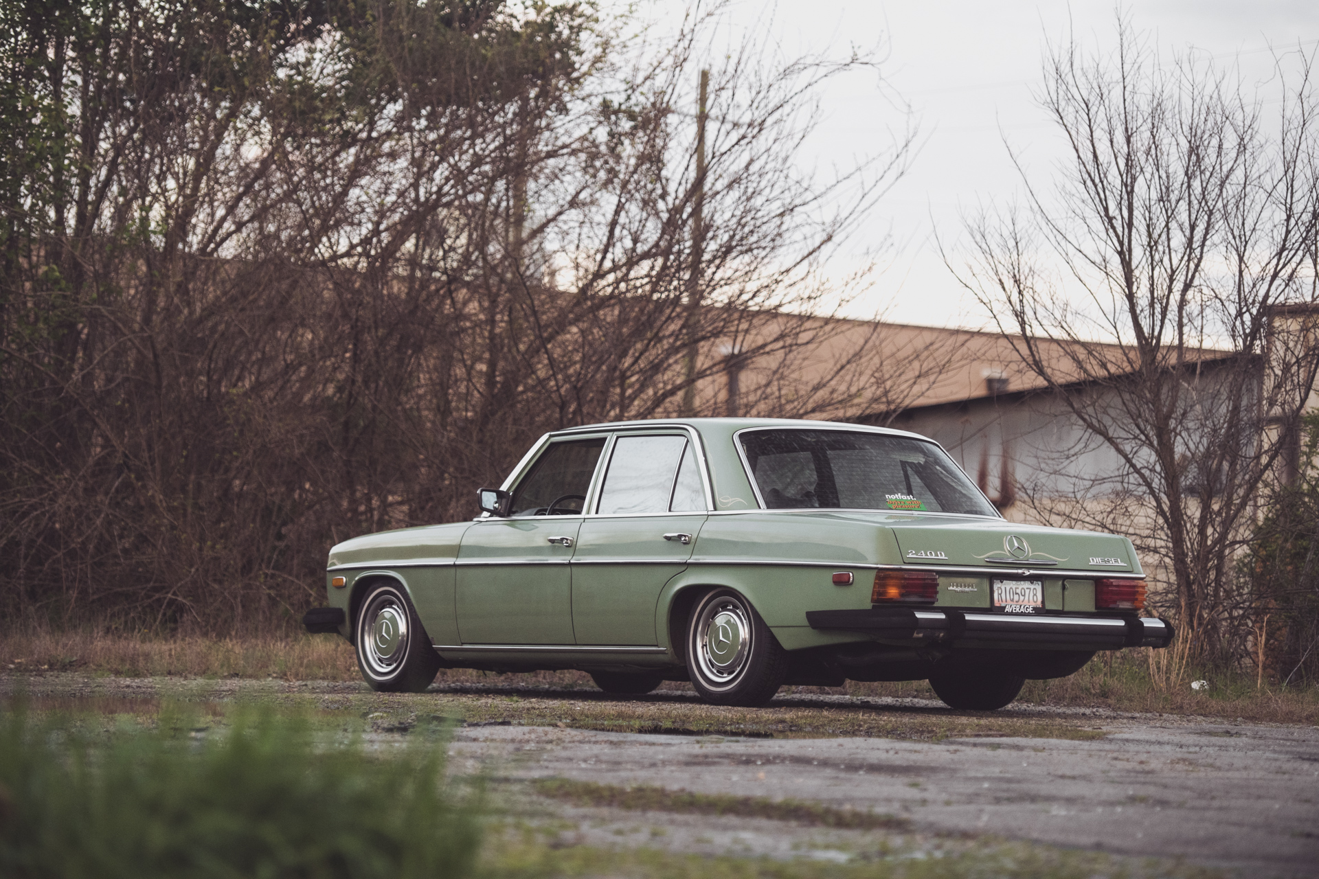 Dead Reliable - Lee Purvis' 1974 Mercedes 240DMacon, GA | March 2019