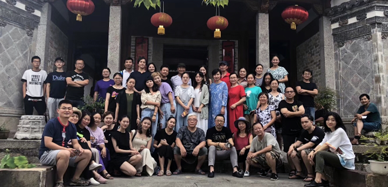 art activities in residence, artist who are from different part of China