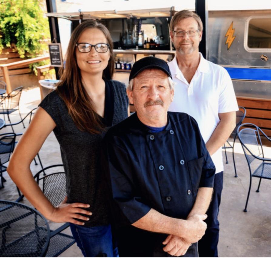 Owner Lee Morris, General Manager Robin Todd, Kitchen Manager Darryl Watkins