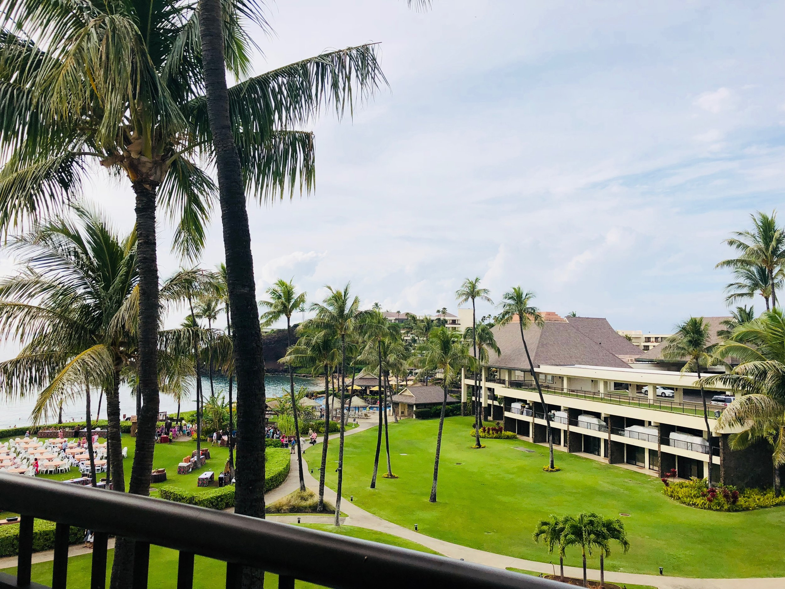 Sheraton Maui  - View from our Patio