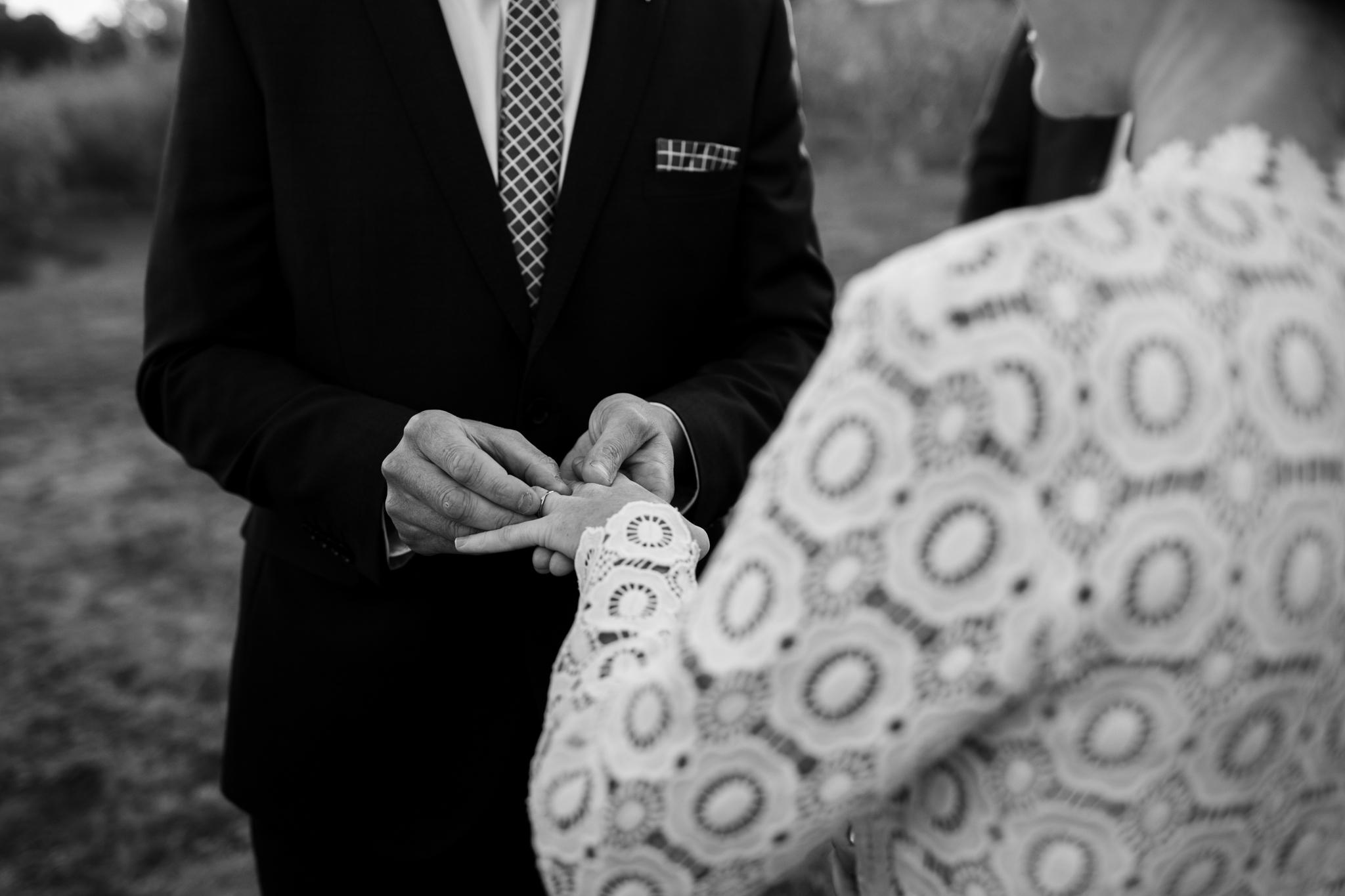 Wedding Borrodell Vineyard