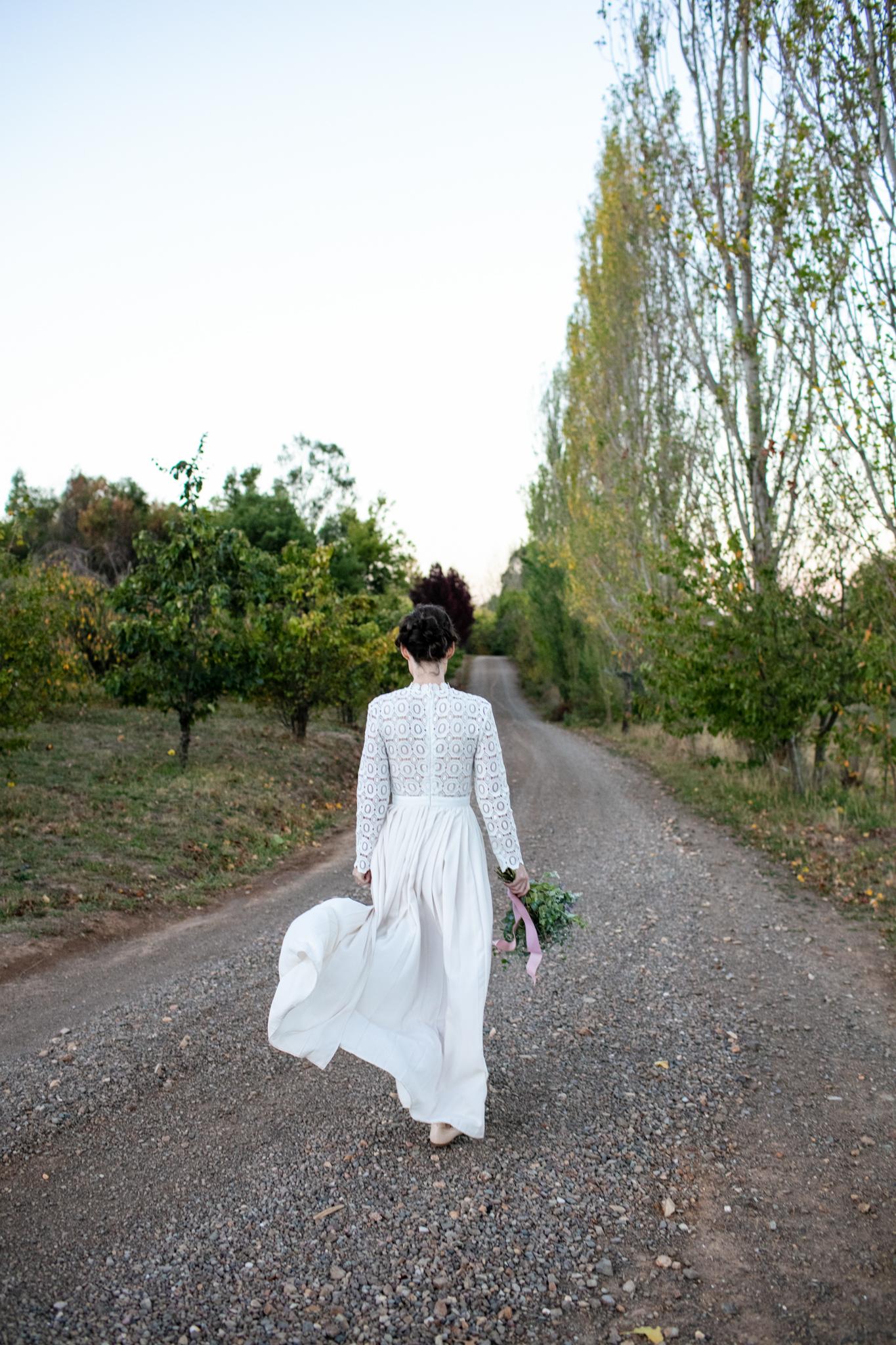 Wedding Borrodell Vineyard.