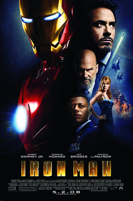 - Release Date: April 14, 2008Based on: Iron Man (comic book character by Stan Lee, Larry Lieber, Don Heck and Jack KirbyDirected by: Jon FavreauStarring: Robert Downey Jr., Jeff Bridges, Terrence Howard, Shaun Toub, Gwyneth PaltrowBudget: $140 millionBox Office: $585.2 millionAfter being captured by terrorists, Tony Stark creates powered armor in a cave with a box of scraps. When he gets back home, Stark cleans up his company and builds an even better suit