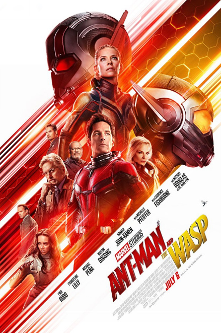 - Release date: July 5, 2018Based on: Ant-Man and Wasp (comic book characters created by Stan Lee, Larry Lieber, Jack Kirby and Ernie Hart)Directed by: Peyton ReedStarring: Paul Rudd, Evangeline Lilly, Michael Peña, Walton Goggins, Hannah John-Kamen, Abby Ryder Fortson, Randall Park, Michelle Pfeiffer, Laurence Fishburne, Michael DouglasBudget: $130 millionBox office: $16.8 million (opening night)When Scott Lang, Hank Pym and Hope Van Dyne work to find a way to rescue Janet Van Dyne from the quantum realm, they find themselves dodging black market dealers, the FBI and a ghost with connections to Pym's past.