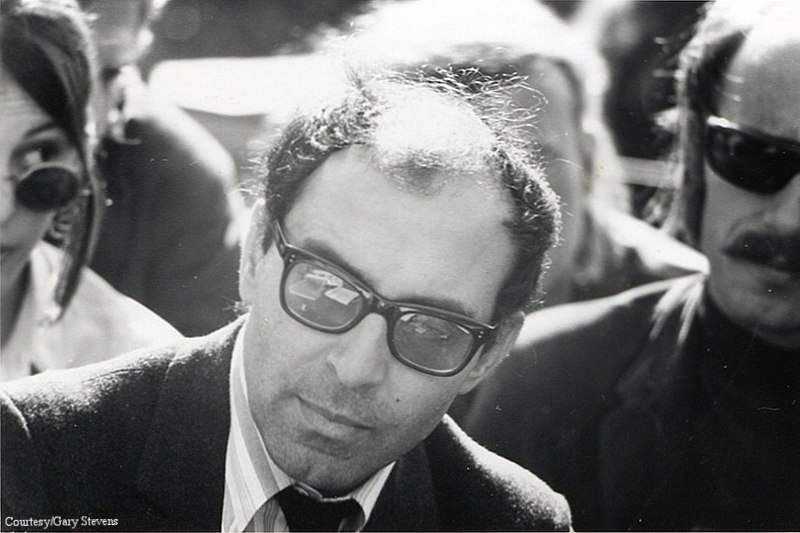 Jean Luc Godard, French New Wave director