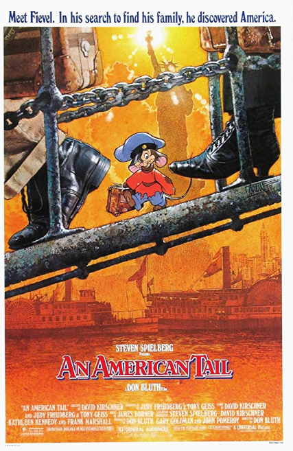 - Release date: Nov. 21, 1986Directed by: Don BluthStarring: Cathianne Blore, Dom DeLuise, John Finnegan, Phillip Glasser, Amy Green, Madeline Kahn, Pat Musick, Nehemiah Persoff, Christopher PlummerBudget: unknownBox office: $84.5 millionA young Russian mouse is separated from his family while emigrating to the United States.
