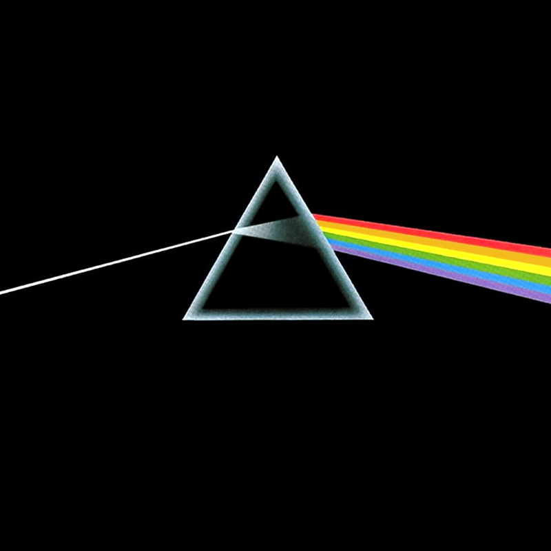The Dark Side of the Moon  cover created by Georgie Hardie