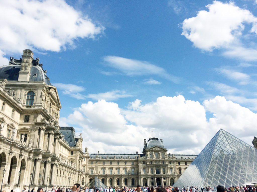 Unfortunately, I never got the chance to explore and marvel at the works within The Louvre. However, the building is definitely an artwork in its own right.