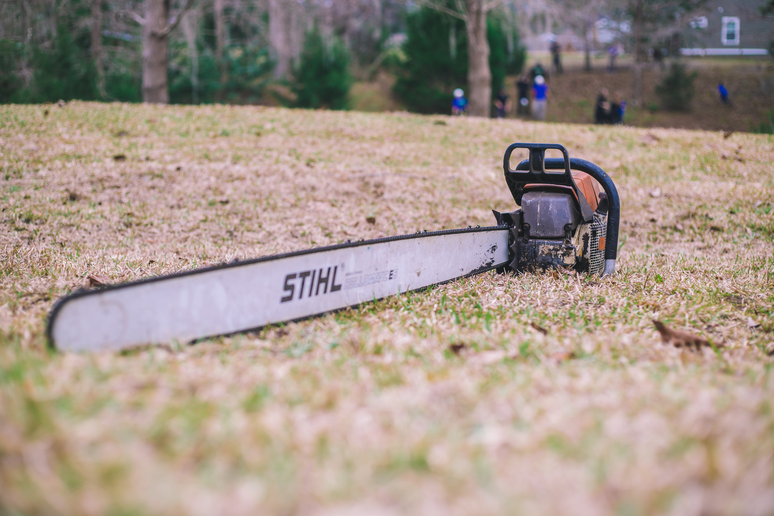 Stihl MS-880 Chainsaw with Five Foot Bar!