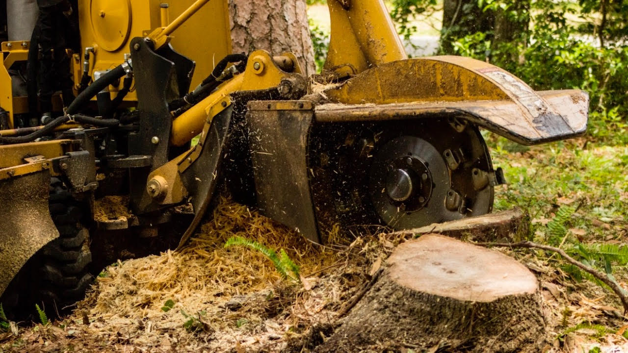 Vermeer Stump Grinding Machine