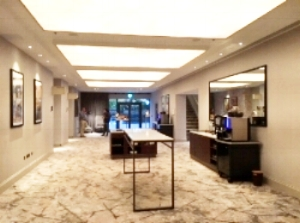 The Marriott Hotel Reception and Meeting area