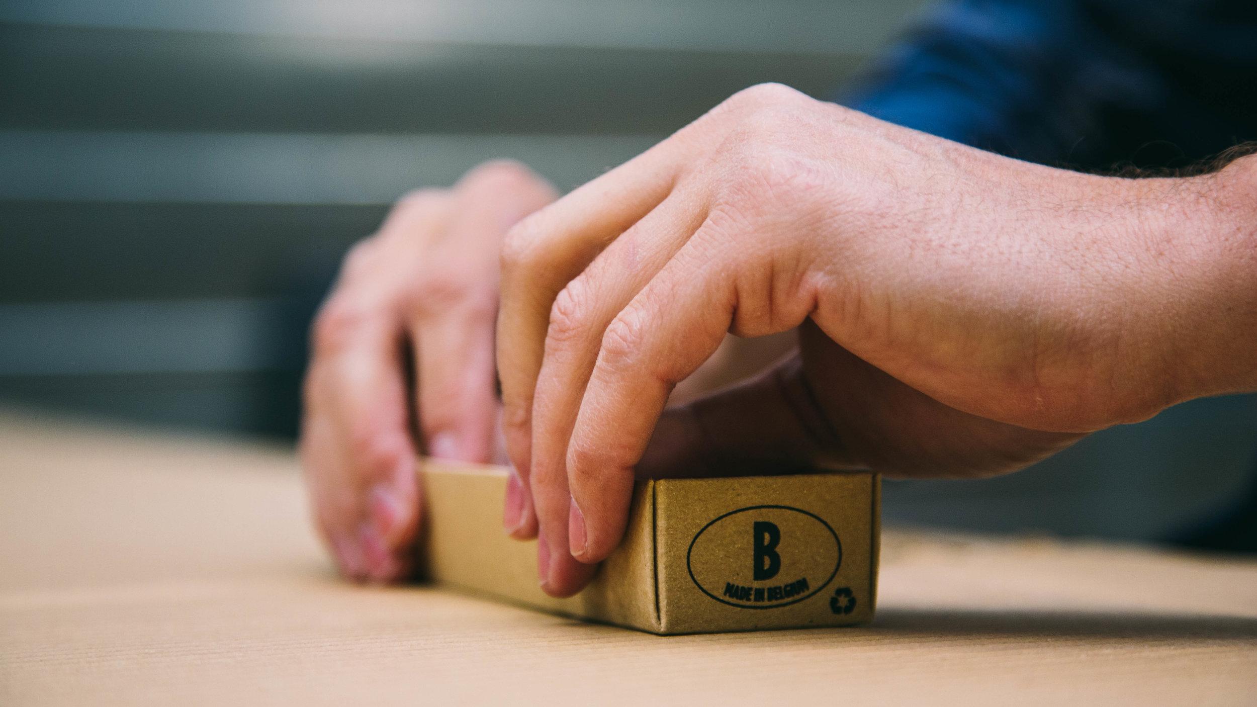Tijdsintensieve handenarbeid -