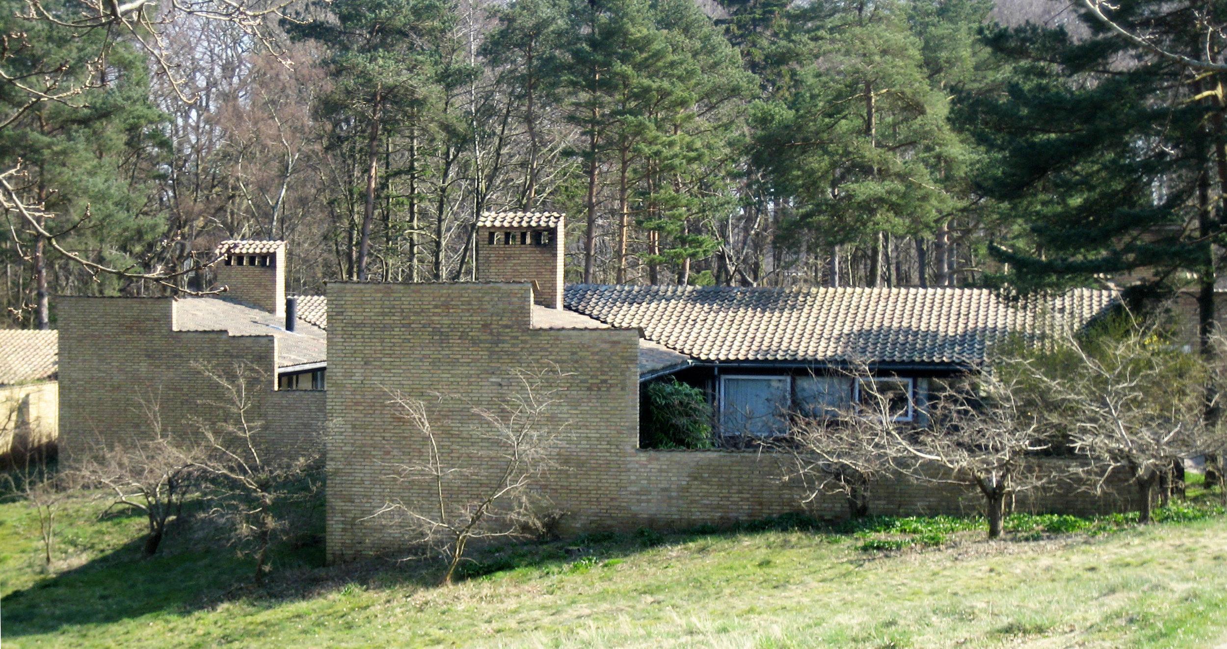 Fig 5. Kingo Houses, Helsingør, Denmark, Jørn Utzon. Photograph by Jørgen Jespersen