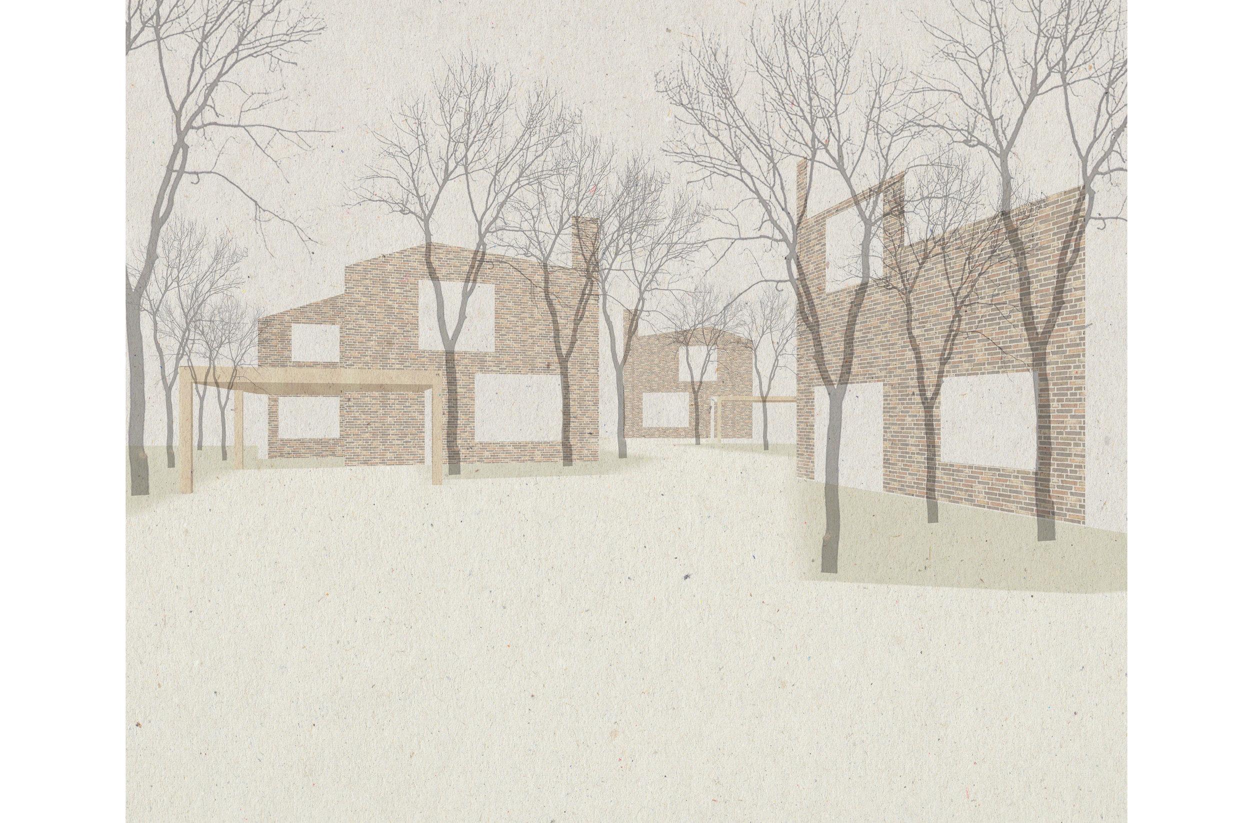 Fig 7. Suburban Villas, Aldershot, Hampshire. Sergison Bates architects