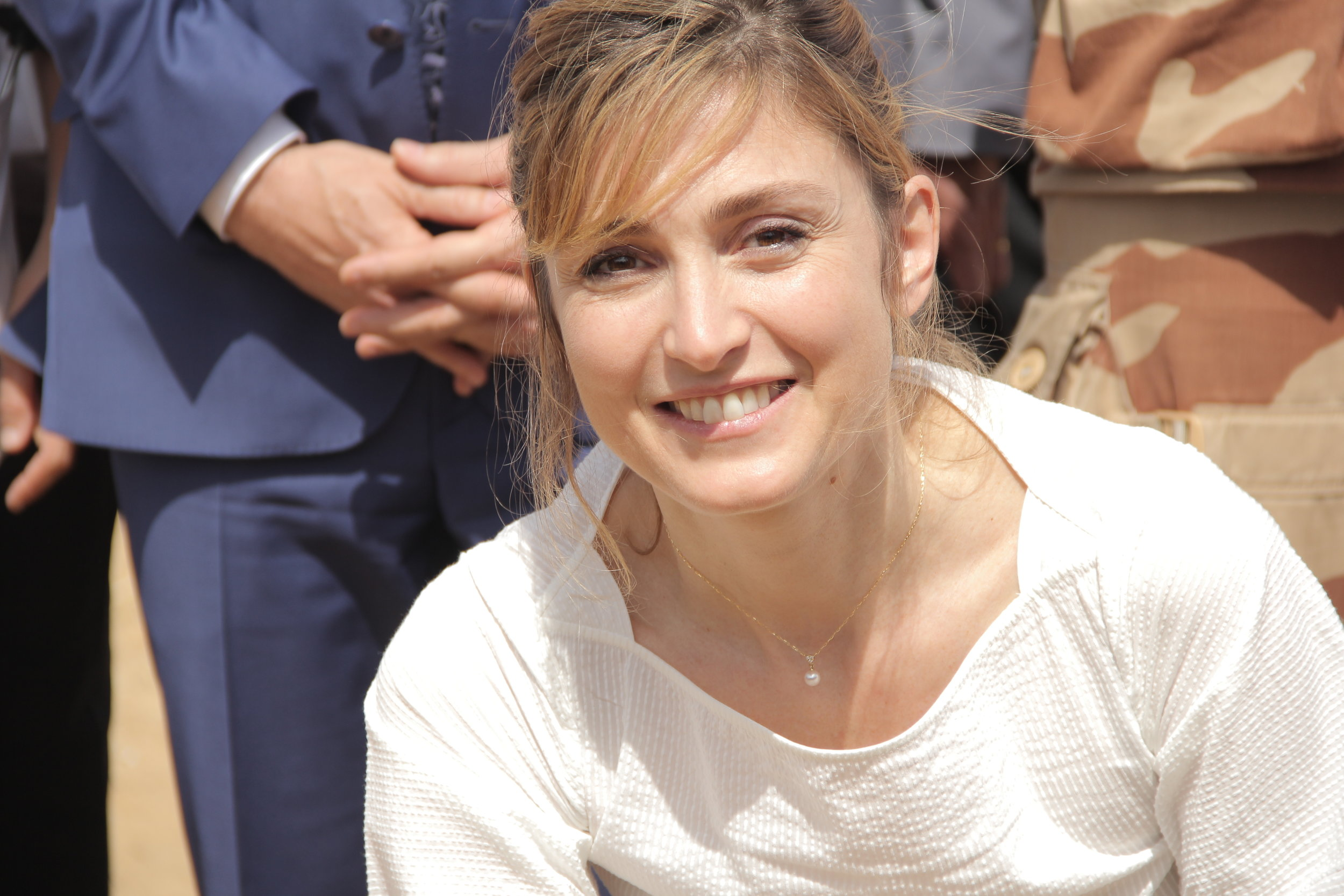 Julie Gayet, marraine de FSF