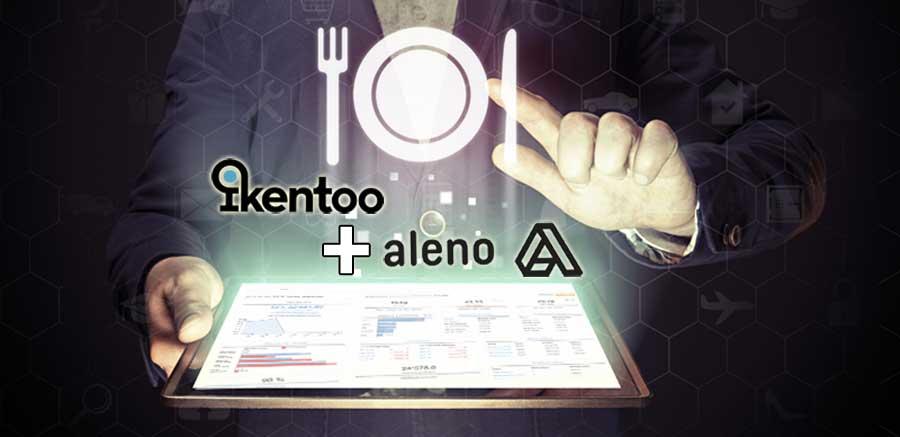 Von dieser Kooperation profitieren Gastronomen: aleno und iKentoo spannen zusammen.