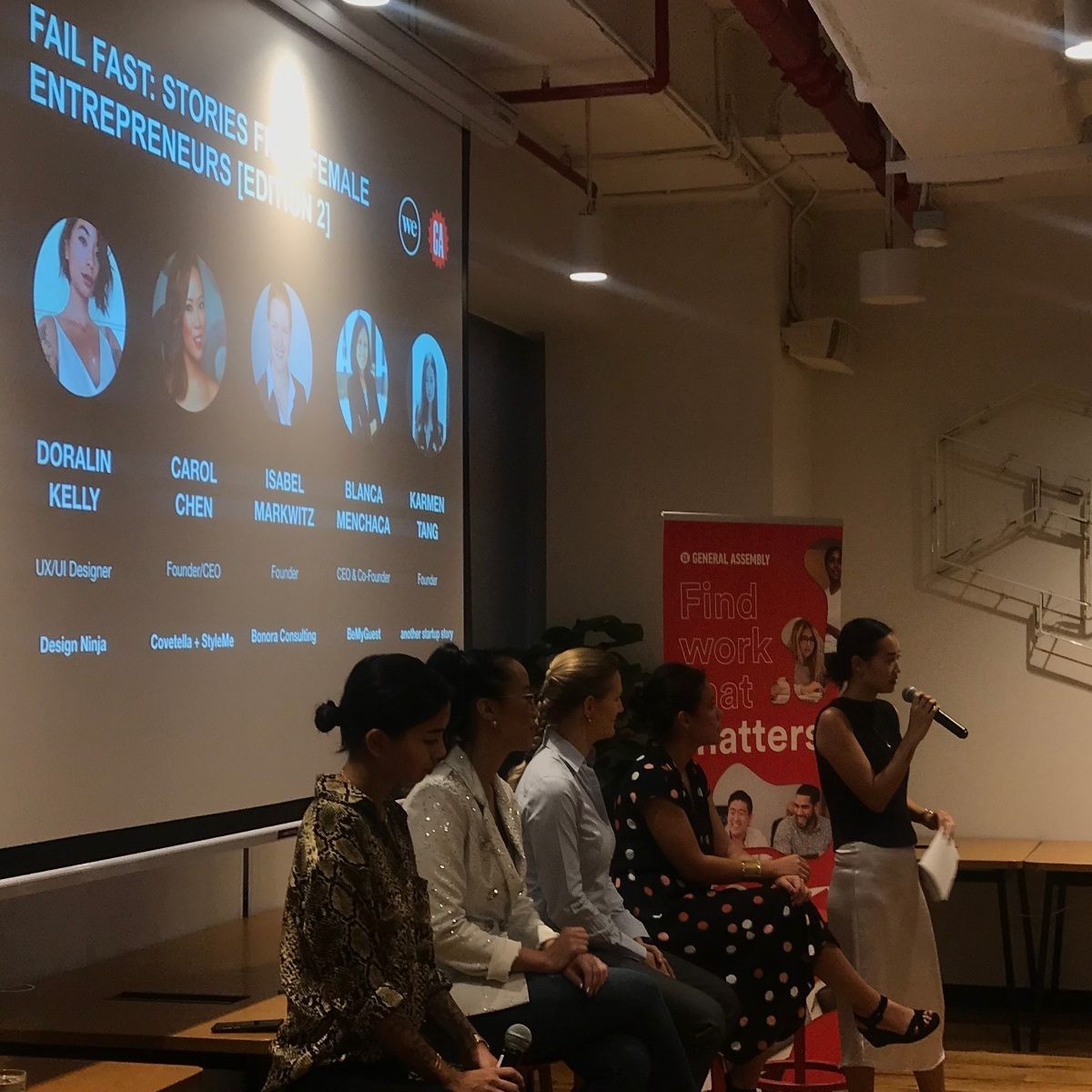 Fail Fast: Stories From Female Entrepreneurs - May 2019