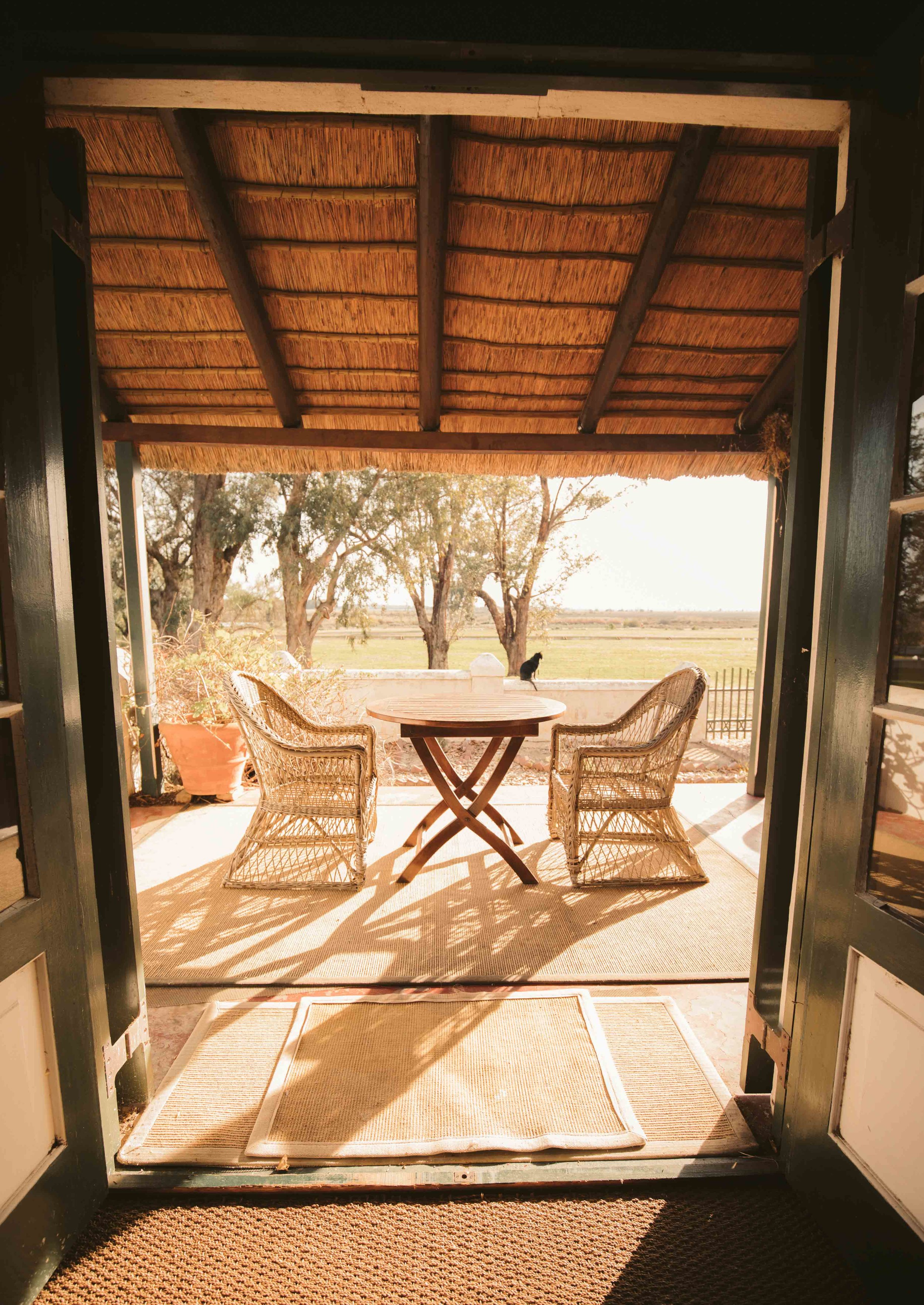 African South - Verandah