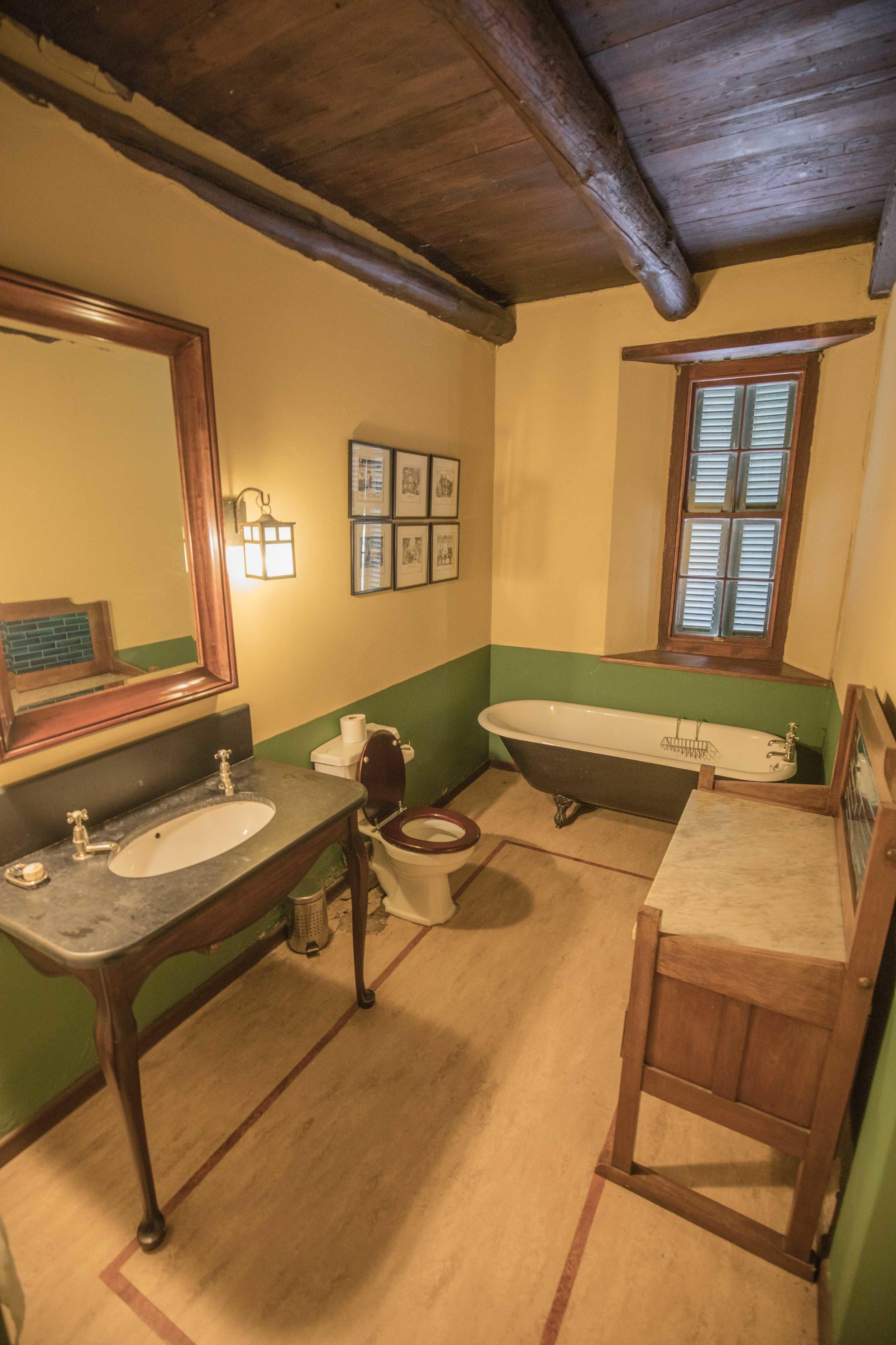 Victorian morris suite bathroom