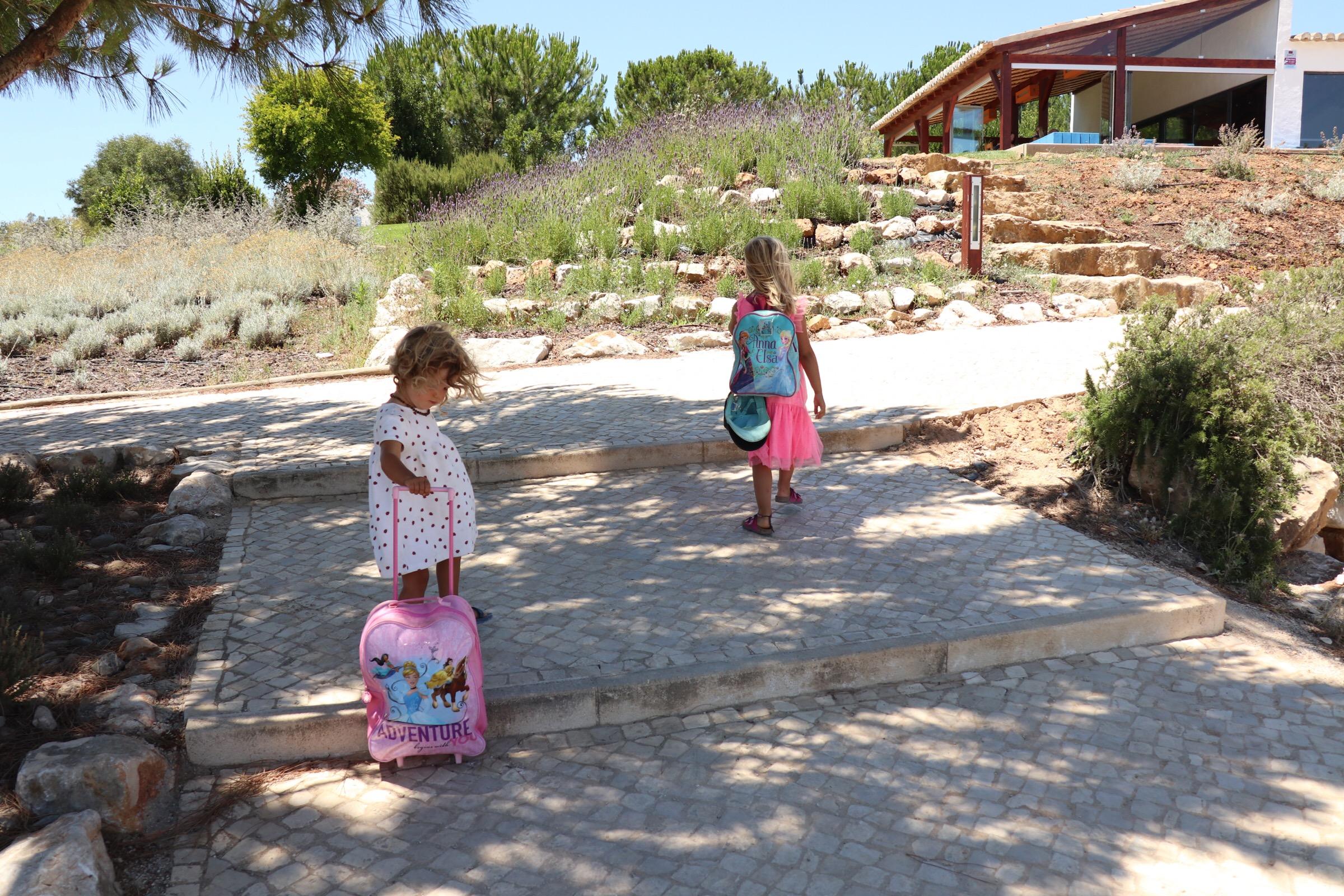 Inchecken bij Quinta do Mel