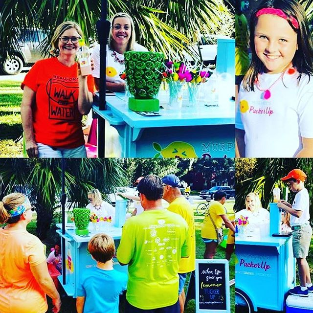 Thanks for having us last weekend, @beaufortwalkforwater !! Such s great time for all! #cleanwater #walkforwater #water