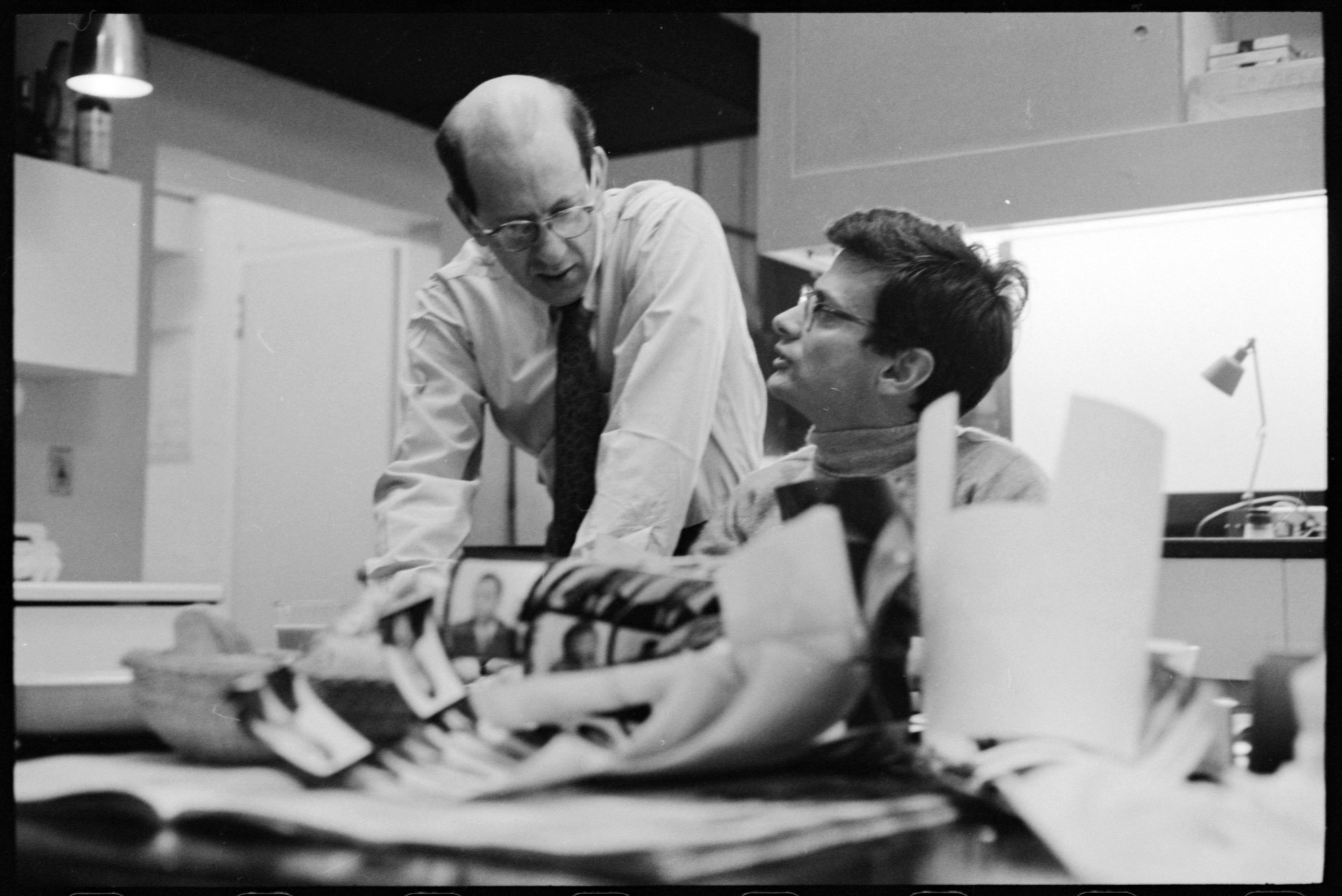 Avedon and Marvin Israel, 1963.jpg
