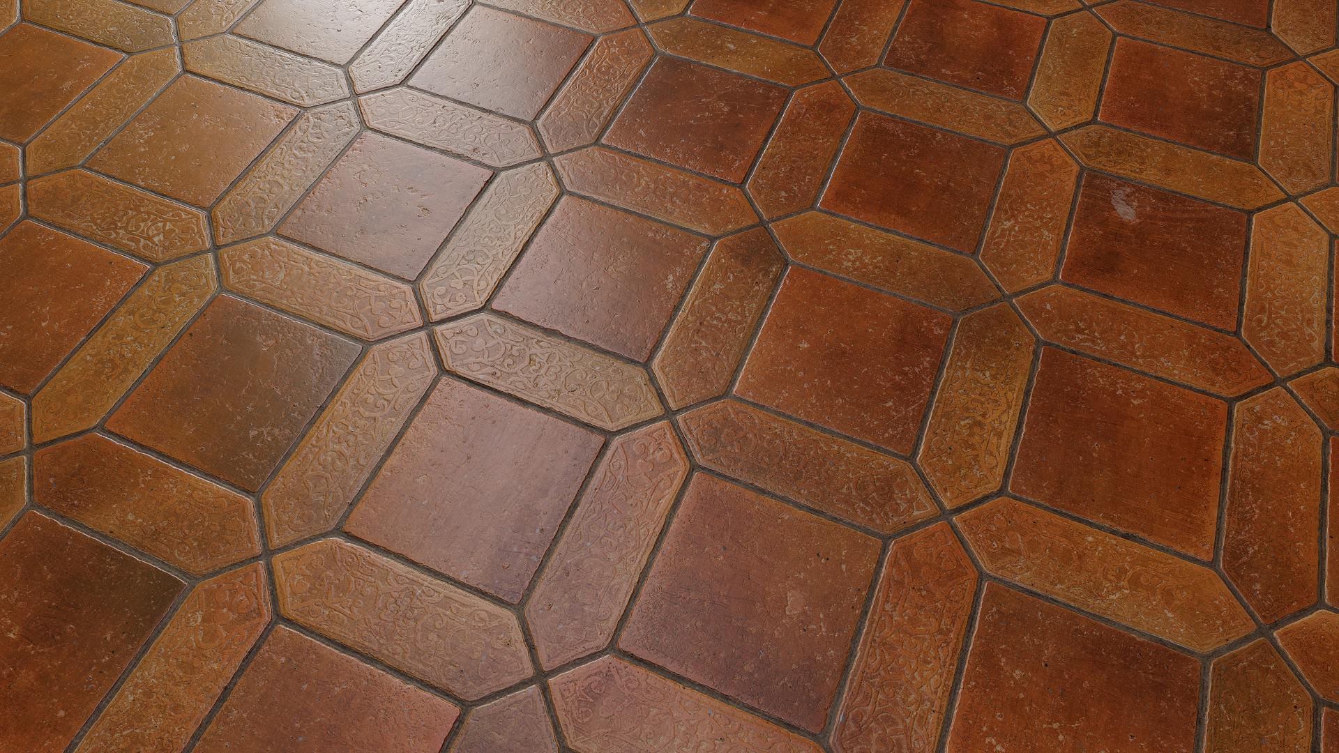 Indoor Floors Release - Procedural Materials(2th October 2018)