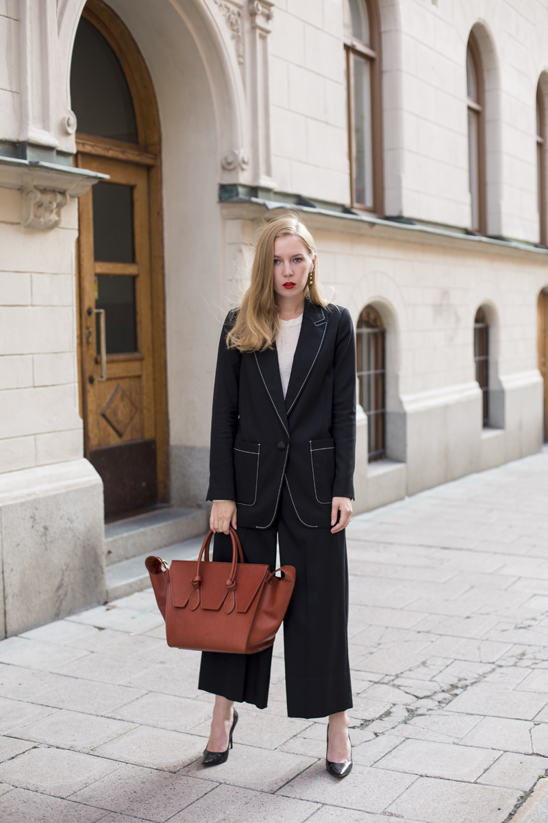 Malene Birger pre-spring 16 suit