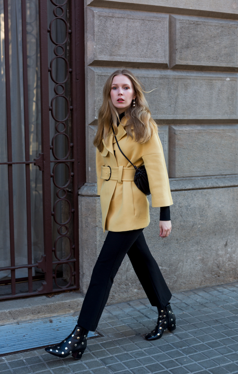 Yellow Mango jacket