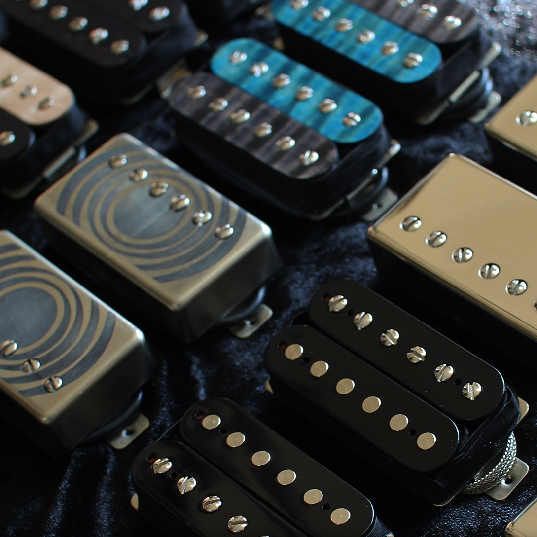 Hand-wound pickups -