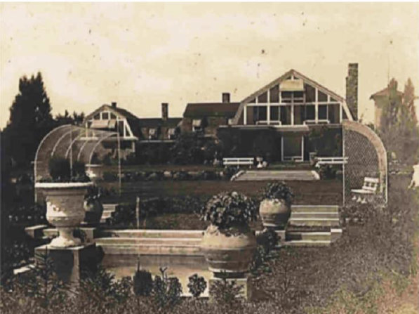 The Hillcrest Estate in the early 1900s