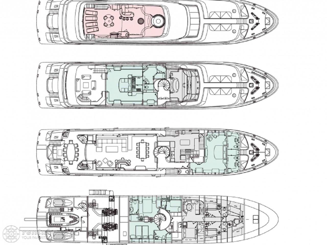Luxury Charter Yacht Lady Leila Specs
