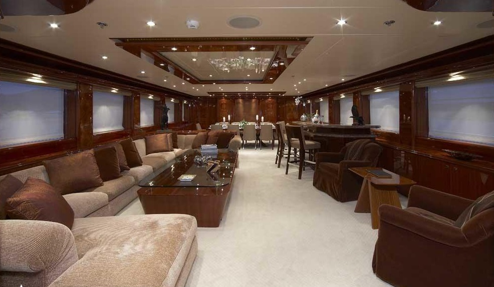 Luxury Charter Yacht Lady Leila Salon