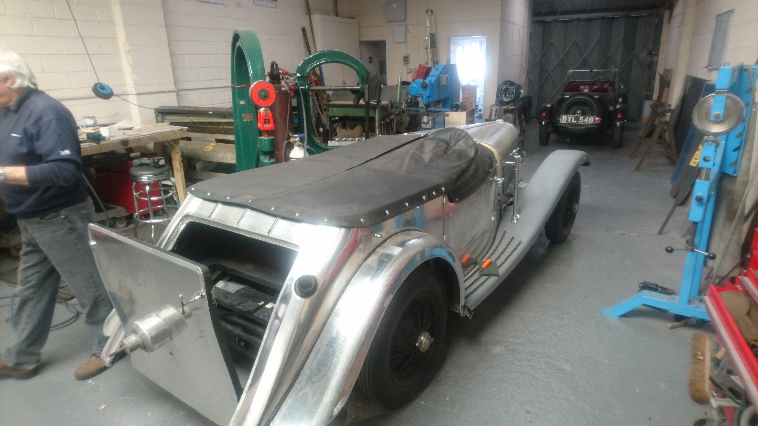 Longford Coachworks Lagonda Rapier Abbot bodied tourer (2).JPG