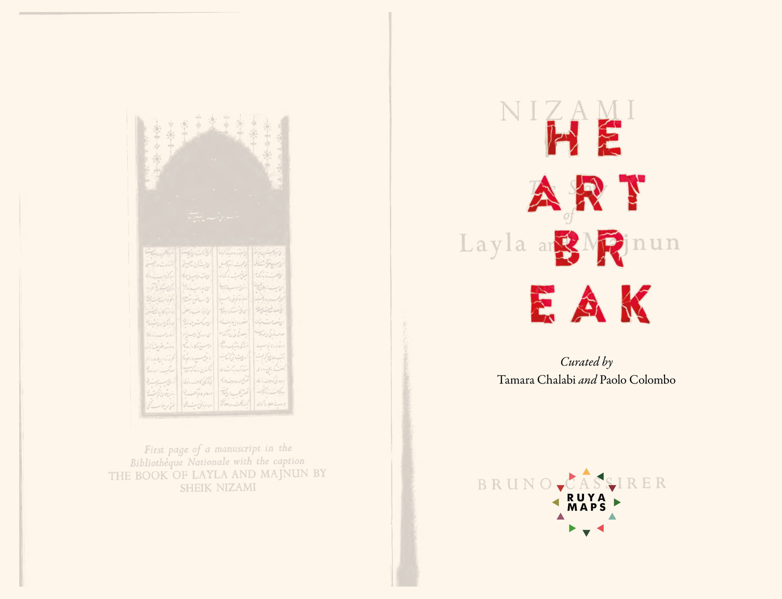 Title: HEARTBREAK  Format: Softback, Pages: 222, Illustrations: 154 images, Dimensions: 160 x 245 mm  Printed in Italy by Conti Tipocolor S.p.A., Calenzano (Florence) April 2019. ISBN: 9781645706731.