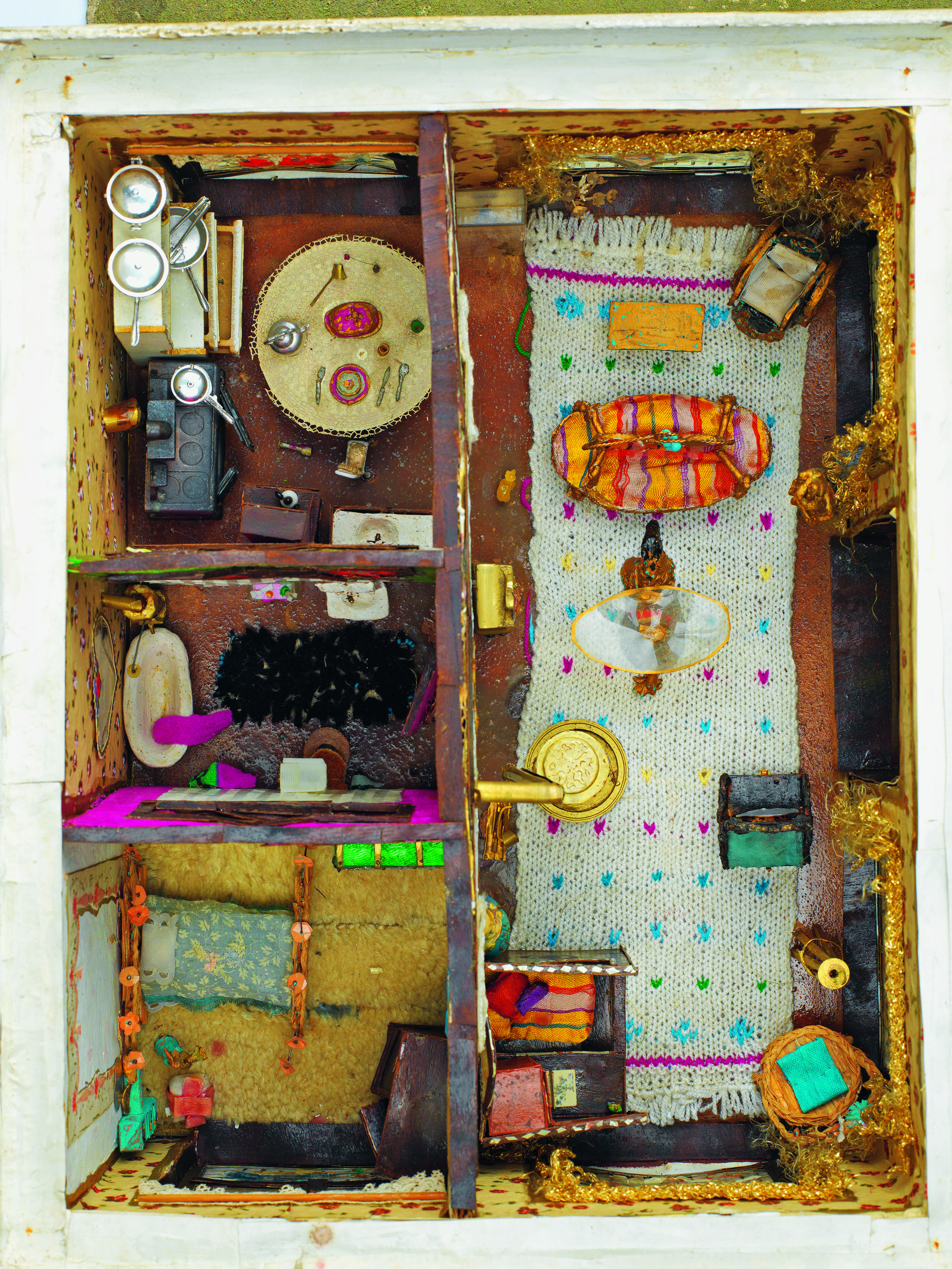 Füsun Onur, 'The Dollhouse' (1970s), interior shot, image courtesy of Ilhan Onur.