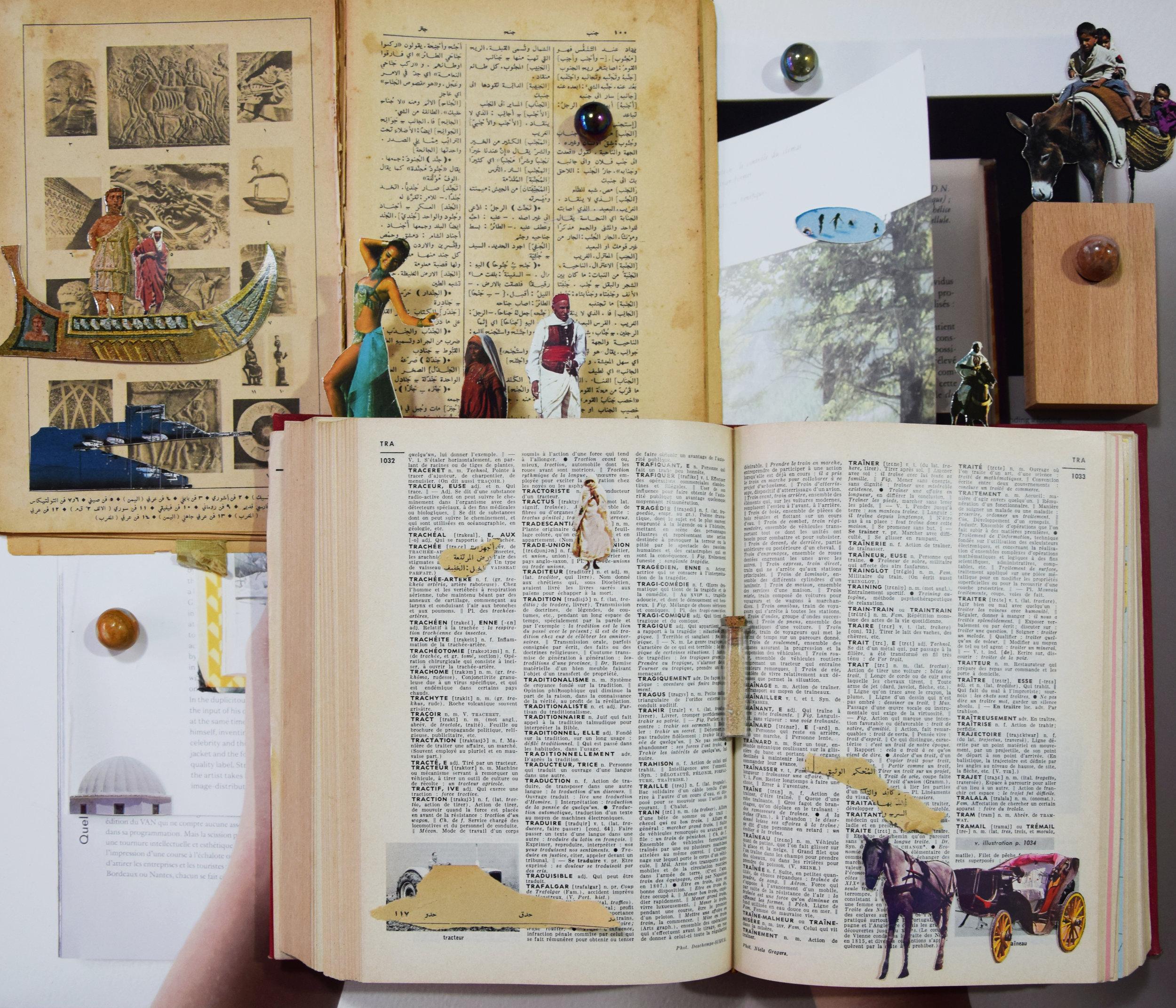 Farah Khelil,  The landscape is not a bookmark , (2019), image courtesy of Rebecca Fanuele.