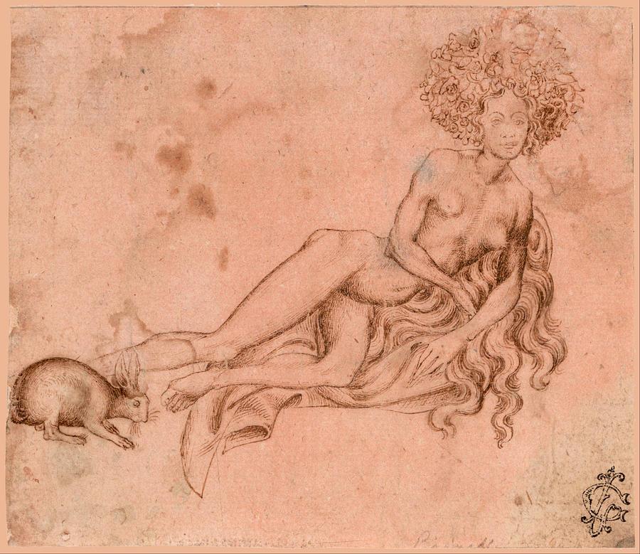 Pisanello,  Allegory of Luxuria,  c.1426. Image credit: Google Cultural Institute.
