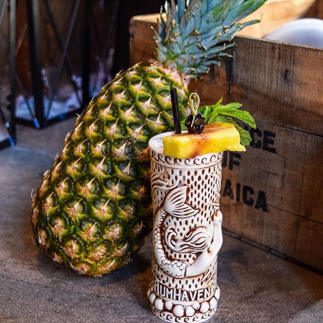 Join us this Thursday for our Tropical Tiki Experience Kickoff Party 🗿starting at 7pm! We'll have live steel drums and our NEW menu of Tiki Cocktails! Enjoy our Hoboken Bahama Mama (pictured) for 1/2 price all night! 🏝  #keepbuggeringon #thewinston #hoboken #cocktailbar #speakeasy #cocktails #cocktail #tiki #tikibar #tropical #tikicocktails