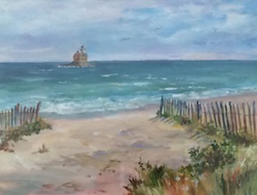 Penfield Beach by Jean Bowler