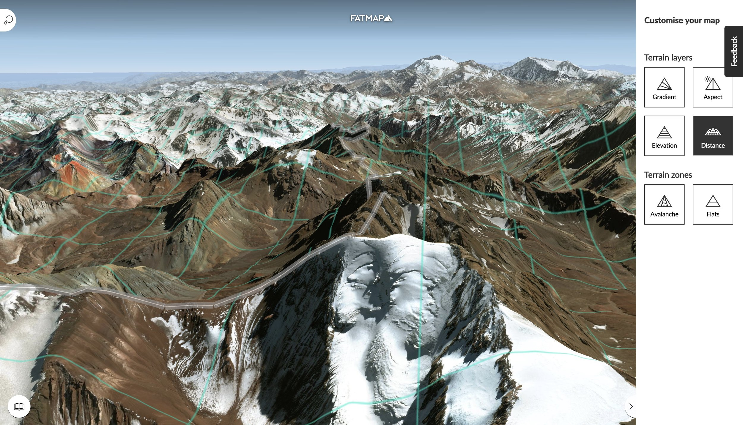 Understand your terrain better with the FATMAP Terrain Tools