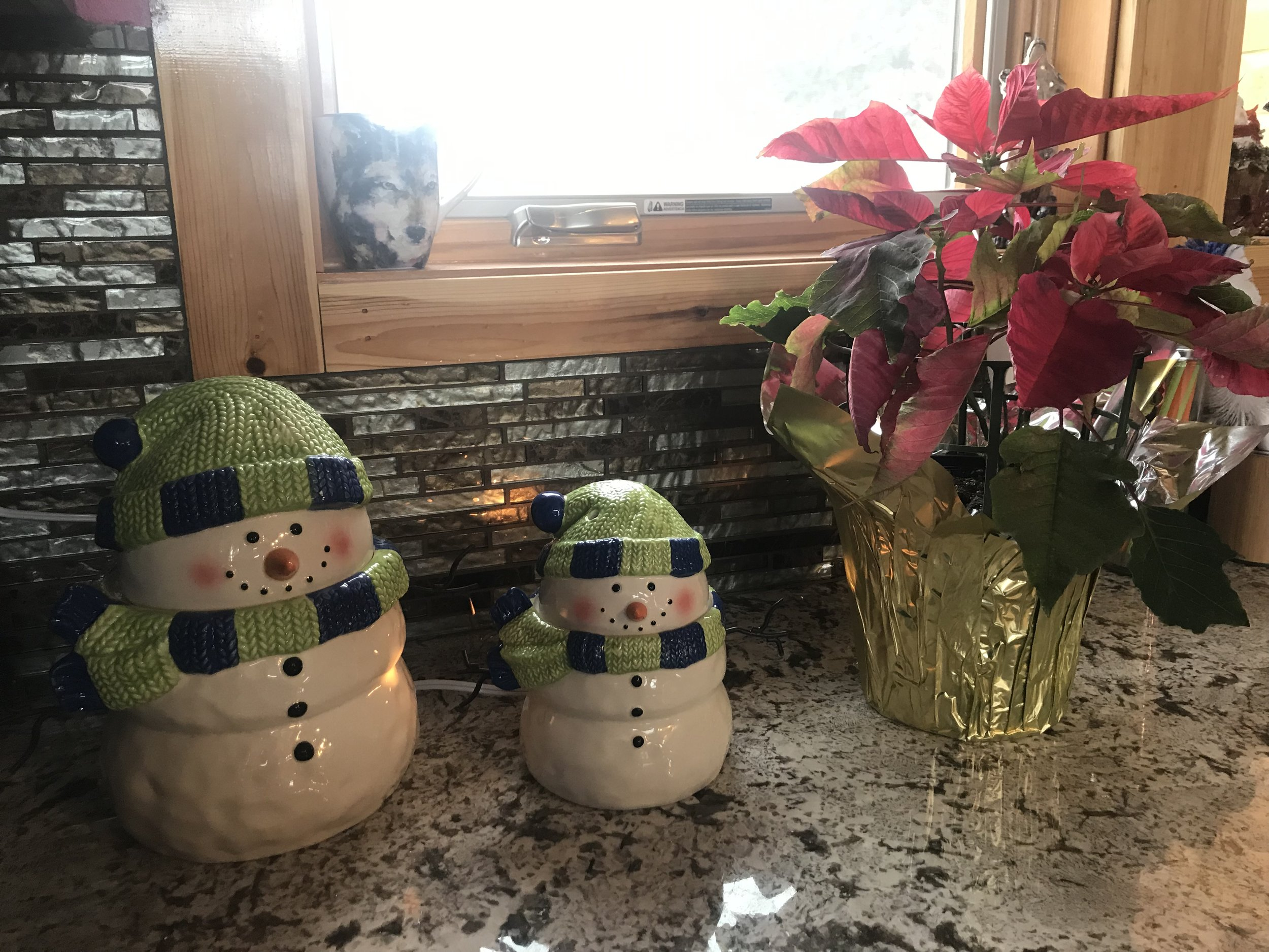 Ruth's photo of Scentsy Snowman Warmer and Matching Cookie Jar