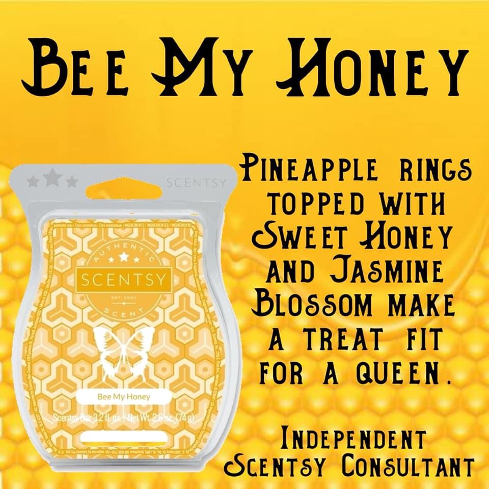 bee my honey scentsy bar.JPG