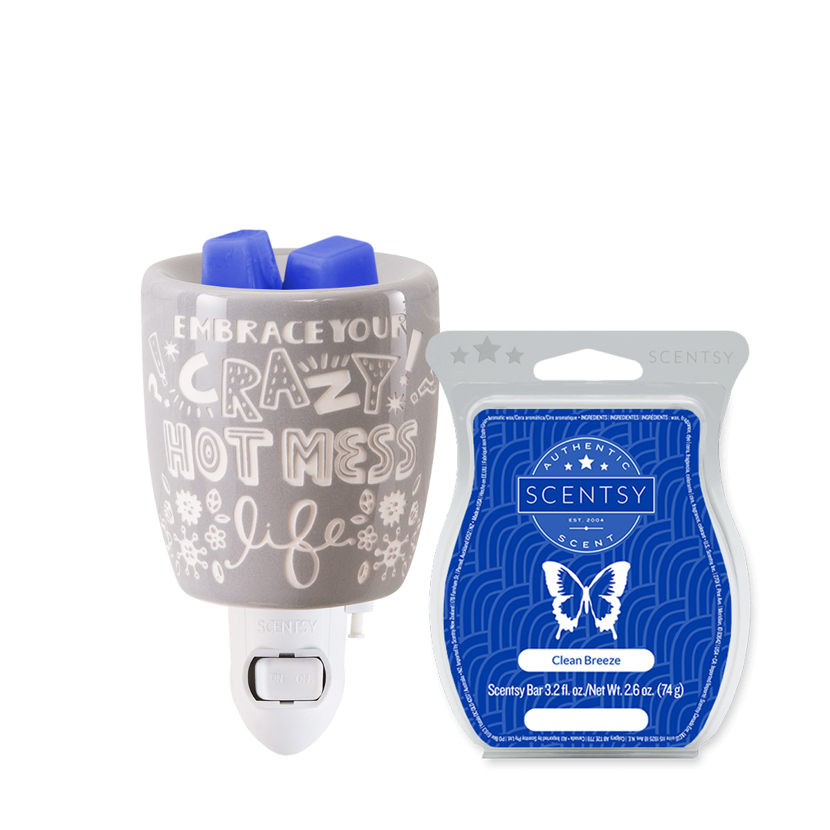 crazy hot mess mini warmer mothers day bundle scentsy