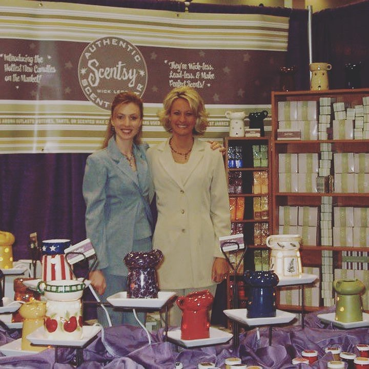 These two women, Kara and Colette, first created Scentsy and were selling it at vendor events and home parties. At one of these home shows they met Orville Thompson. He loved the product like everyone else and saw some great potential. In May 2004 he and his wife Heidi bought Scentsy and started running it out of Idaho.