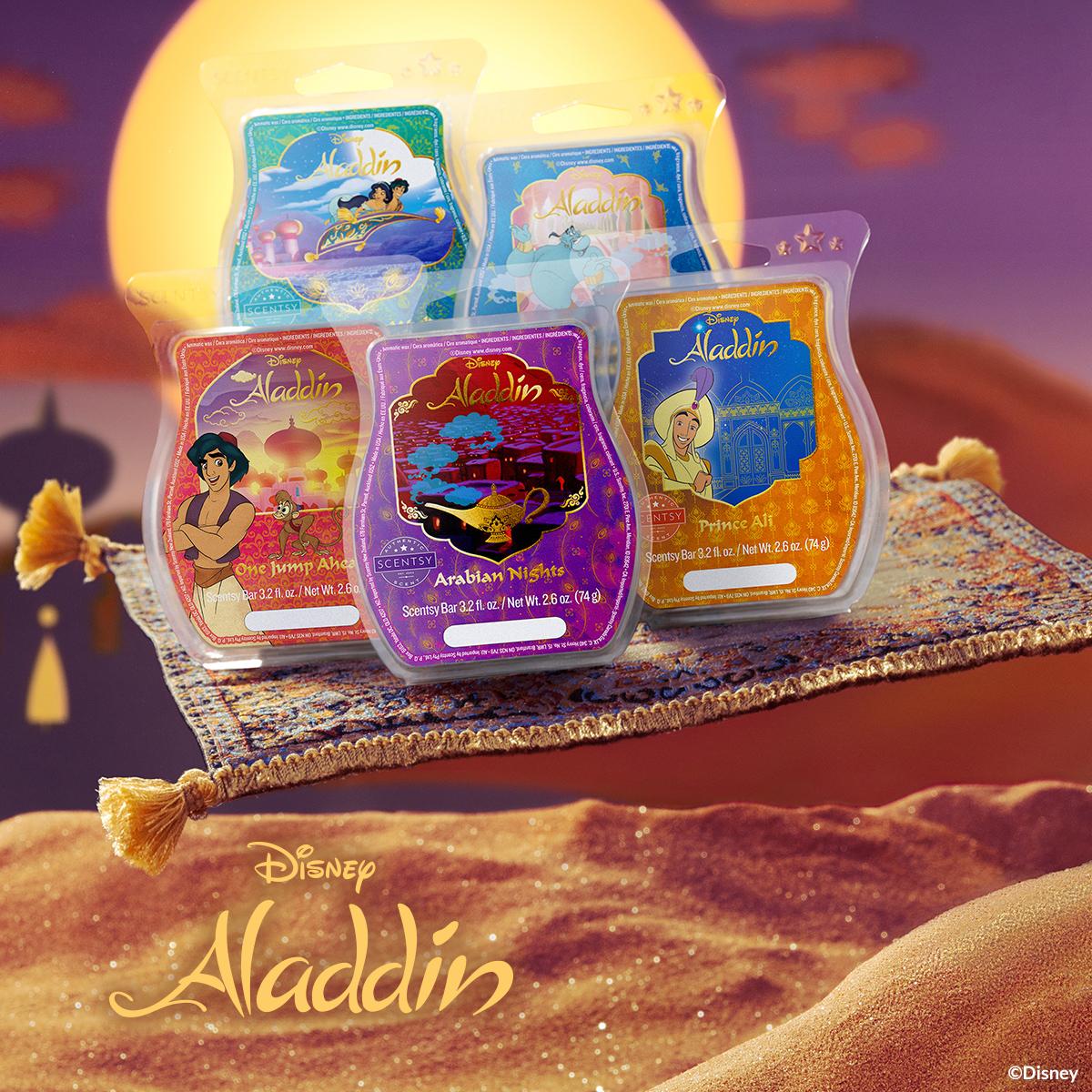 disneys aladdin scentsy collection