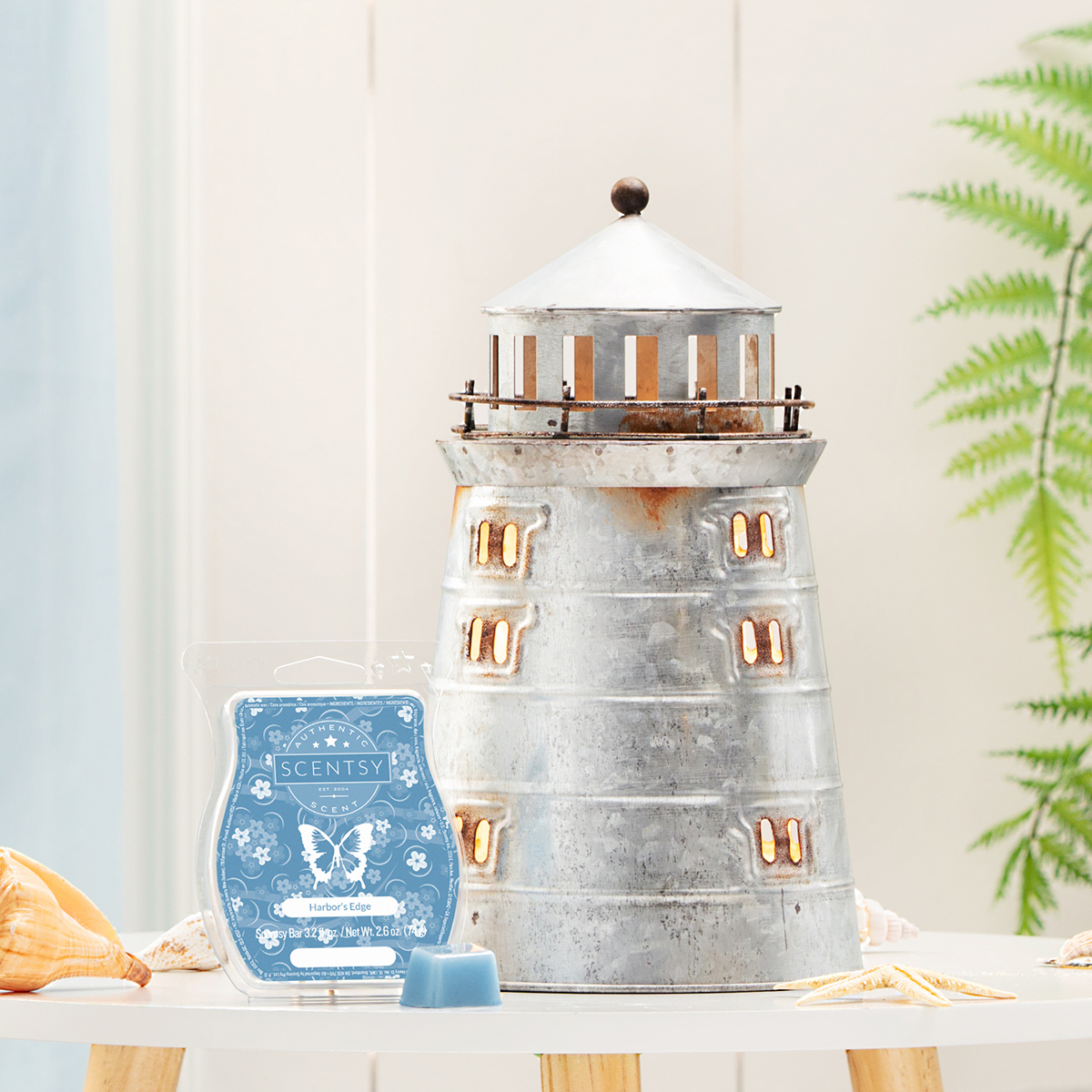 scentsy lighthouse warmer of the month august 2019