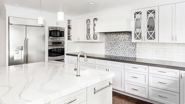 "It's official...QUARTZ is the new granite. ""Engineered quartz was finally crowned the most popular countertop material in 2018 following a three-year decline in granite, according to Houzz research.  The natural stone and resin material is incredibly durable and can visually mimic the look of more expensive and maintenance-heavy materials like marble and slate."""